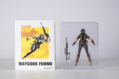 Lost Planet Female waysider